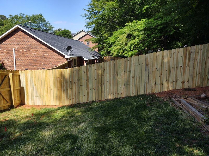 85ft-of-6ft-wood-privacy-fence
